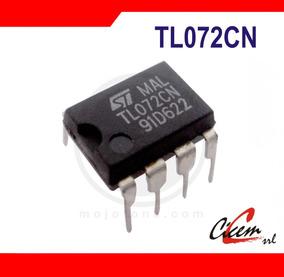 Tl072cp Amplificador Operacional Dual Jfet Tl072 Tl062 Tl082