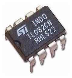 tl082 integrado amplificador dual alto ancho de banda