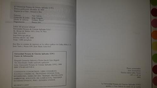 tlc peru-estados unidos: contenido y aplicacion