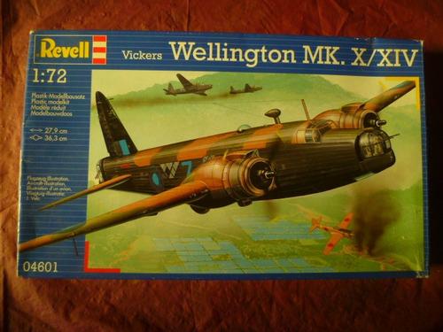tm. 1/72 revell wellington mk.x/xiv