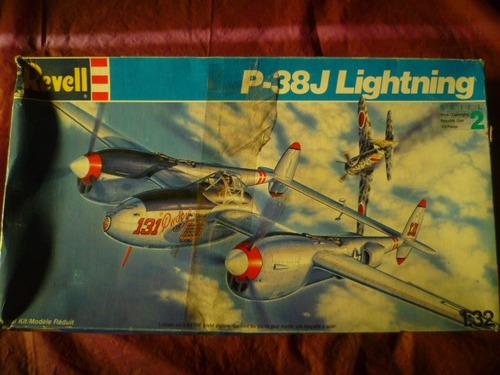 tm. revell 1/32 p-38j lignting