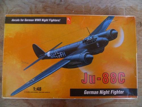 tm.hobbycraft 1/48 ju-88c german nighit fighter