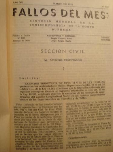 tml: fallos de la corte suprema 1970, 1974
