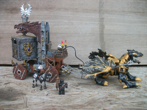 tm.megablocks dragons wizards strong box #9806