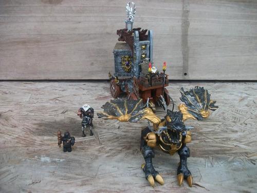 tm.megablocks dragons wizards strong box #9806