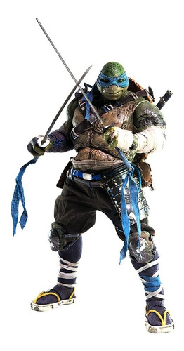 tmnt out of the shadows leonardo 1/6 figura threezero