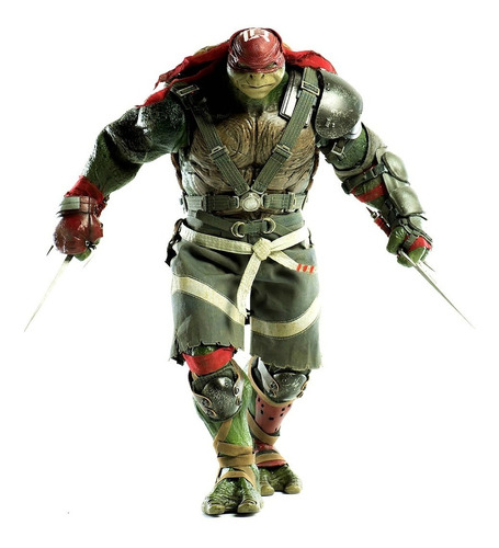 tmnt out of the shadows raphael 1/6 figura threezero