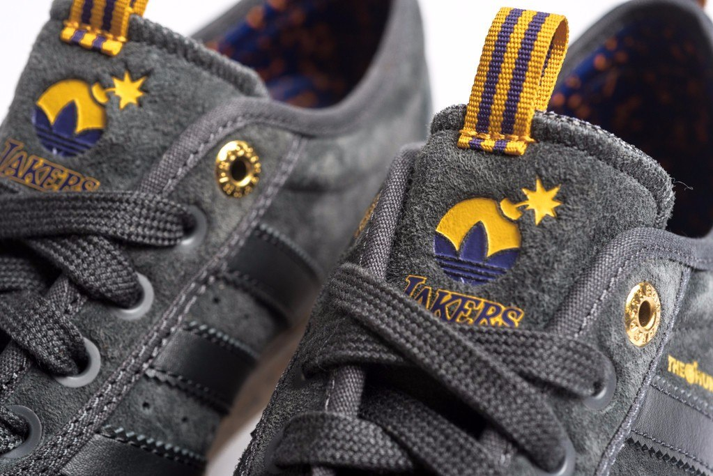 new styles 59007 ee823 tênis adiase adidas skateboarding x the hundreds x lakers. Carregando zoom.