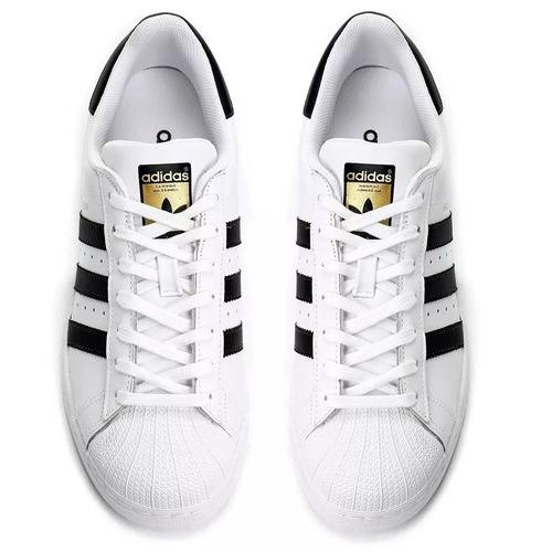 c365ab472b0 Tênis adidas Superstar Foundation Black white adidas - R  200