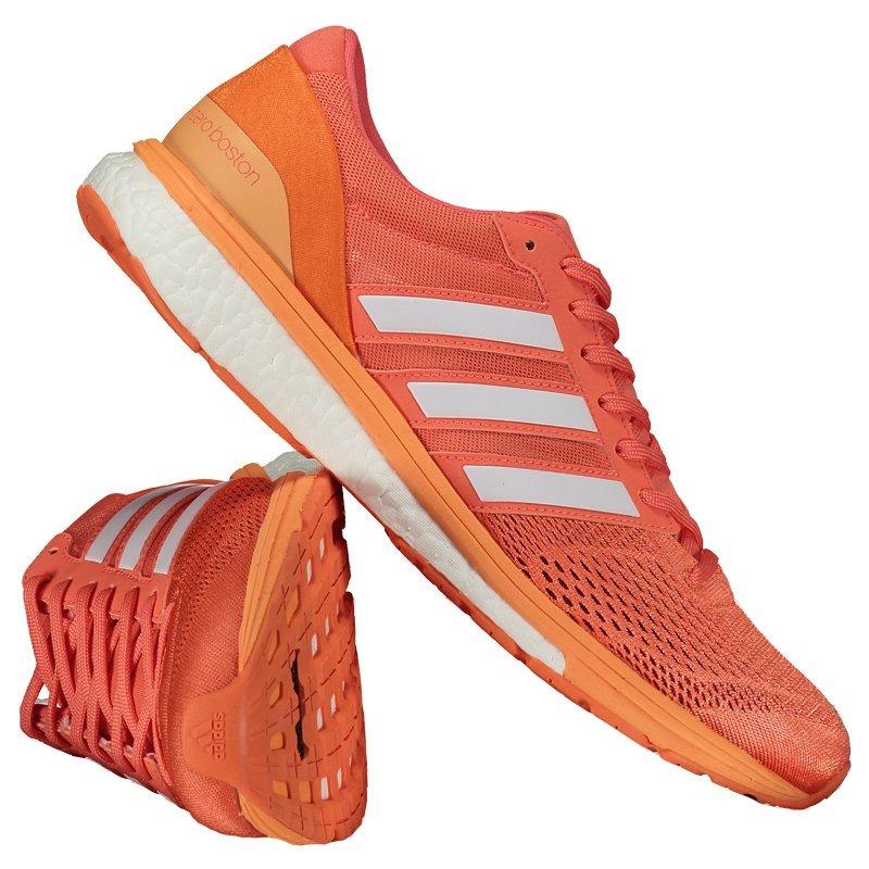 f2b2d2b9d tênis adidas adizero boston 6 feminino laranja. Carregando zoom.