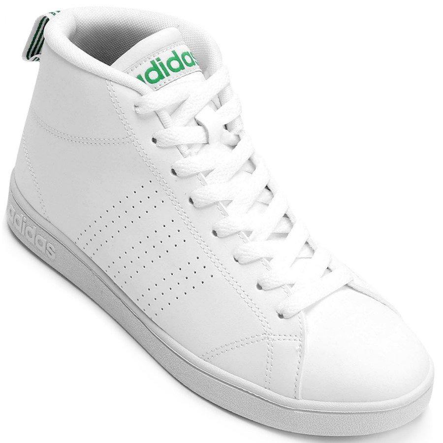 tênis adidas advantage clean mid cano alto masculino. Carregando zoom. 3536defb381f1