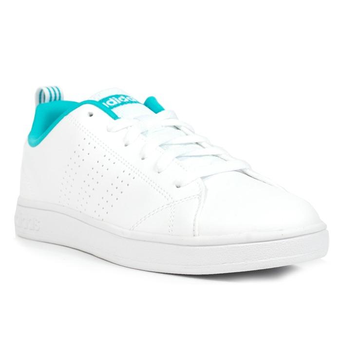 ca06613b5f5 Tênis adidas Advantage Clean - White Green white - R  239