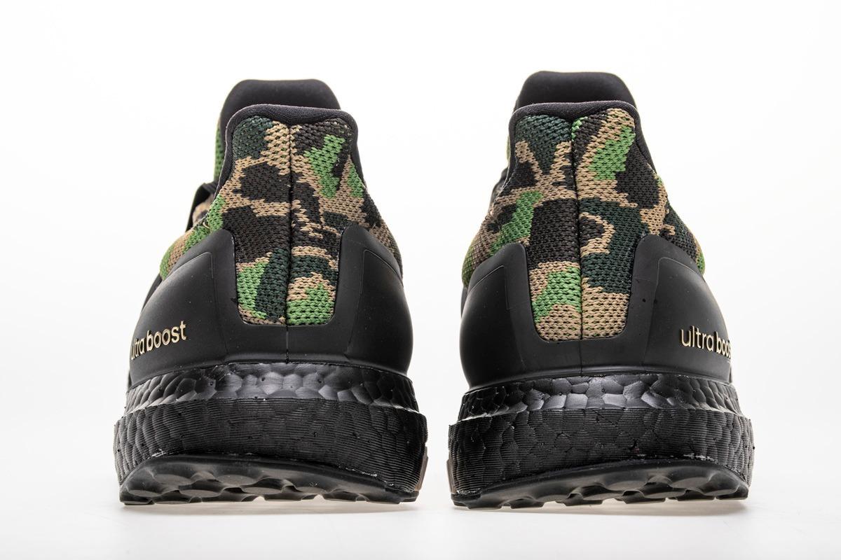 8b070d4317e8f tênis adidas bape x adidas ultra boost green multicolor. Carregando zoom.