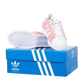 e6099d17d3 Tenis Adidas Feminino Superstar Rosa - Tênis no Mercado Livre Brasil