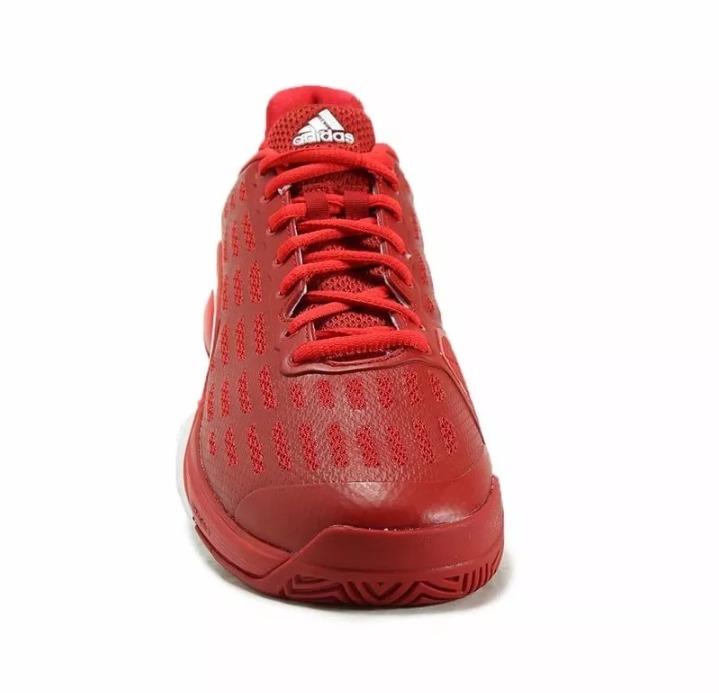 312fa3acf86 Tênis adidas Barricade 2016 Vermelho N° 41 - R  389