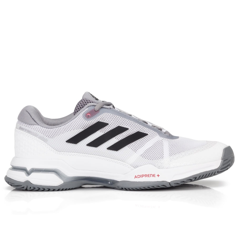 newest f4f11 55c4b tênis adidas barricade club oc branco e cinza. Carregando zoom.