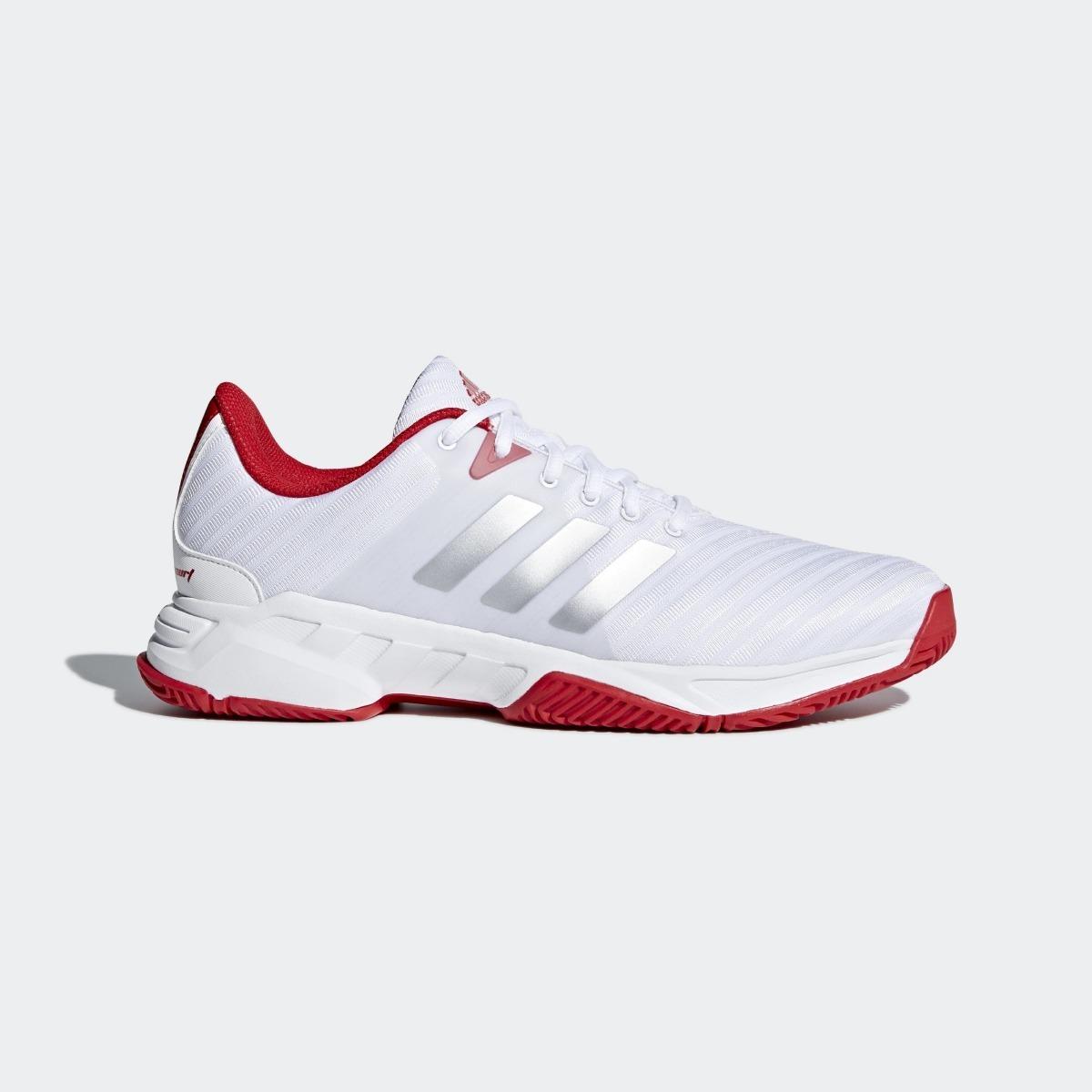 Tênis adidas Barricade Court 3 Original Branco - Footlet - R  409 29c9a6b6e5409