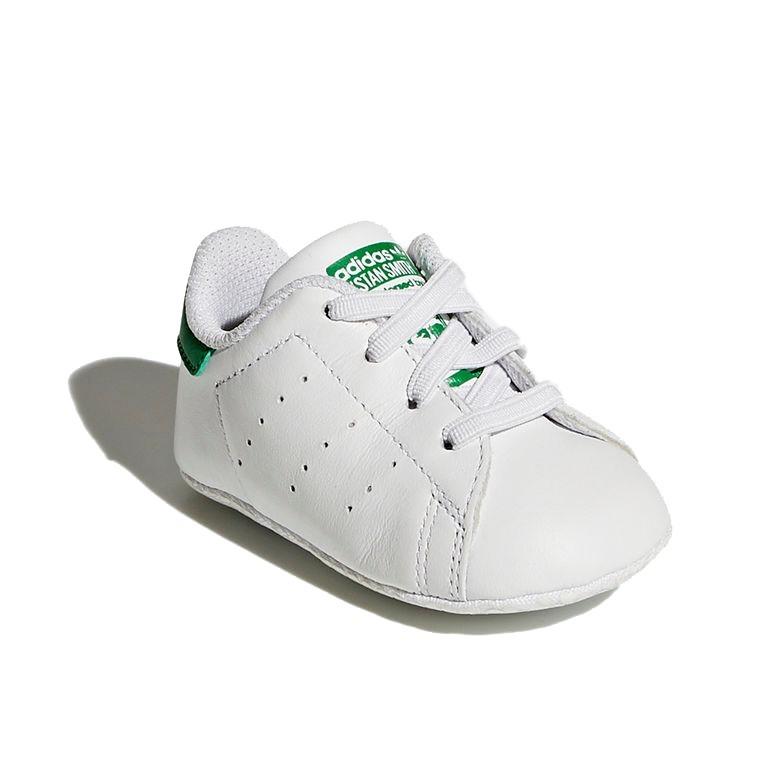 7d09d71816 Carregando zoom... tênis adidas bebê stan smith branco e verde b24101  original