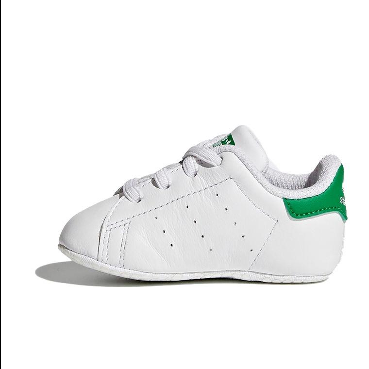 promo code de4aa 6e7ee tênis adidas bebê stan smith branco e verde b24101 original