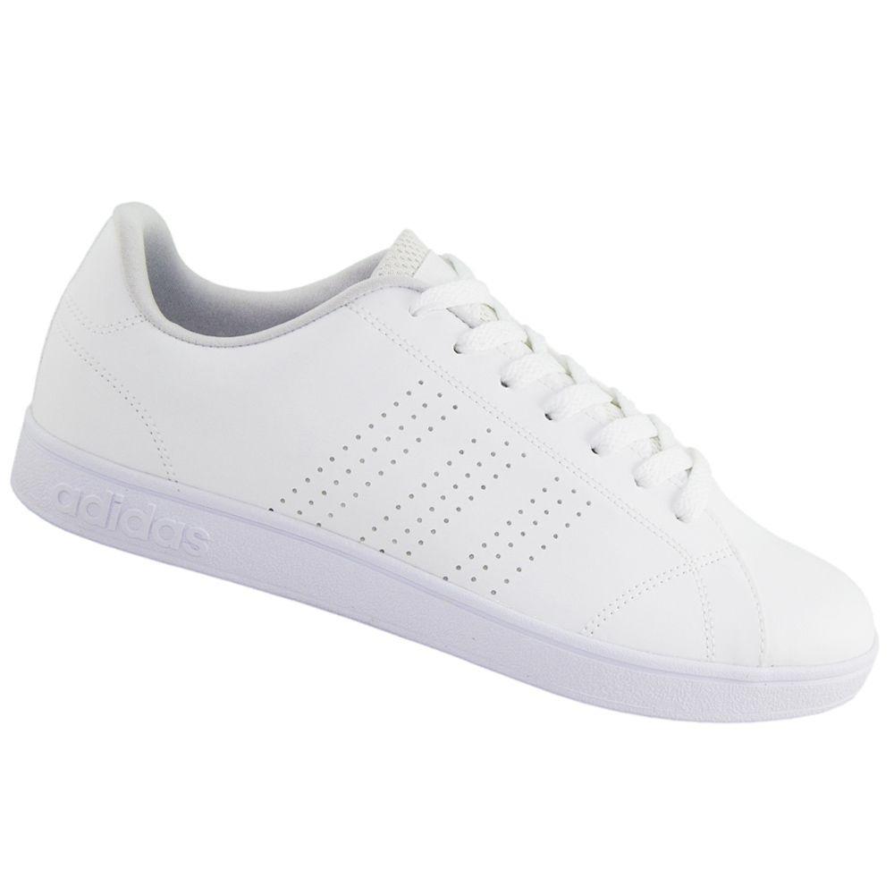tênis adidas casual advantage vs clean neo branco b74685. Carregando zoom. 5808d2863ee3d
