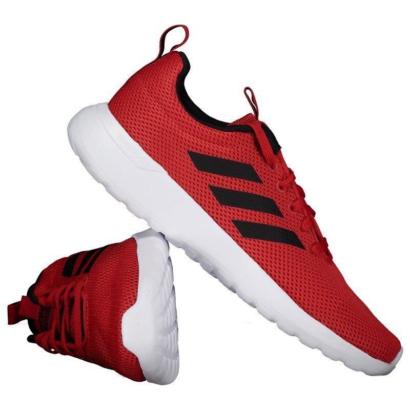 ed466fc376 tênis adidas cf lite racer cln vermelho. Carregando zoom.