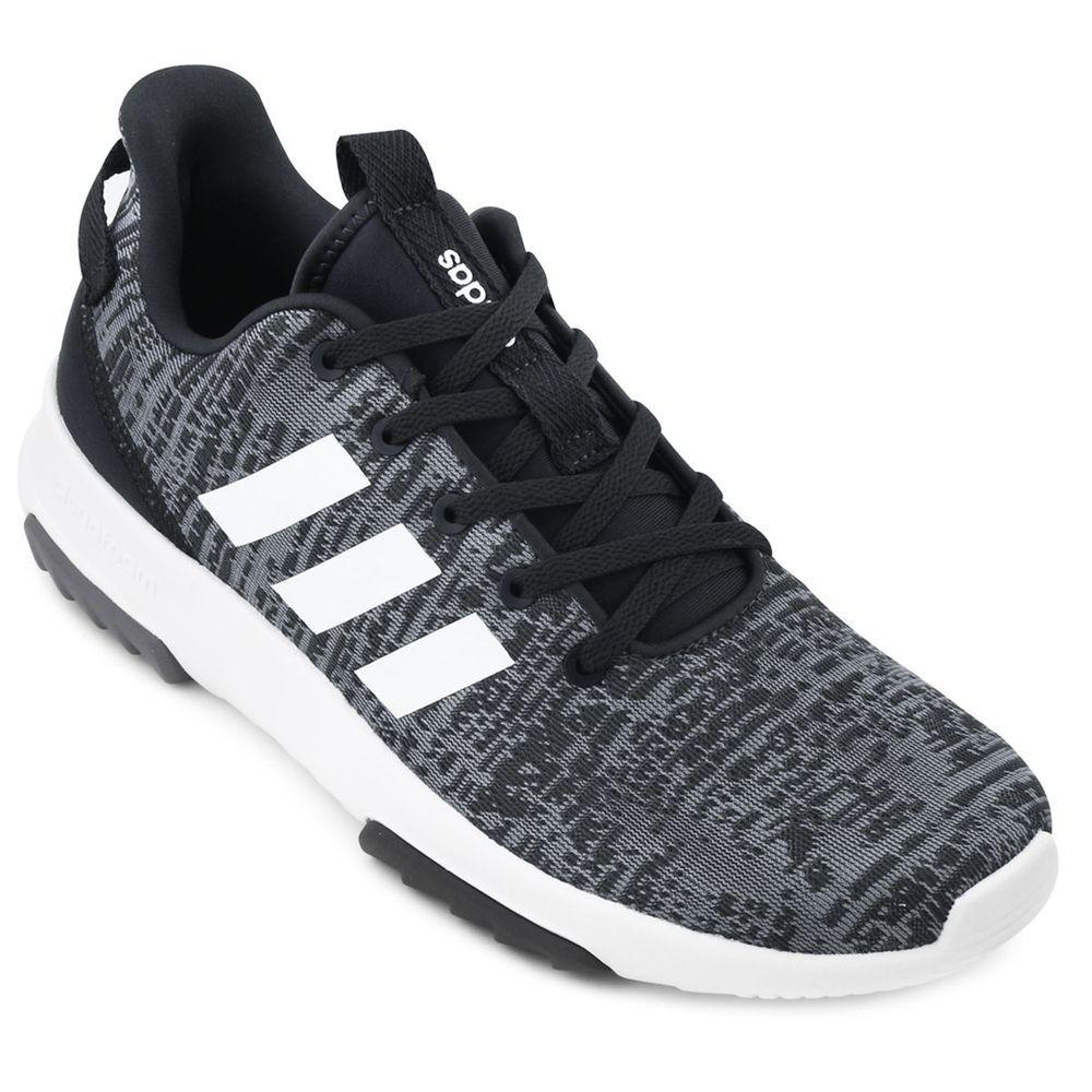 tênis adidas cf racer tr - masculino - cinza branco. Carregando zoom. e076e35608c58