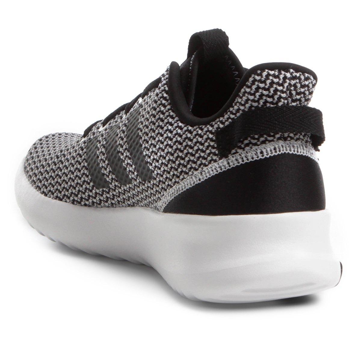 tênis adidas cf racer tr preto e branco masculino- da9305-45. Carregando  zoom. ea8c416368815