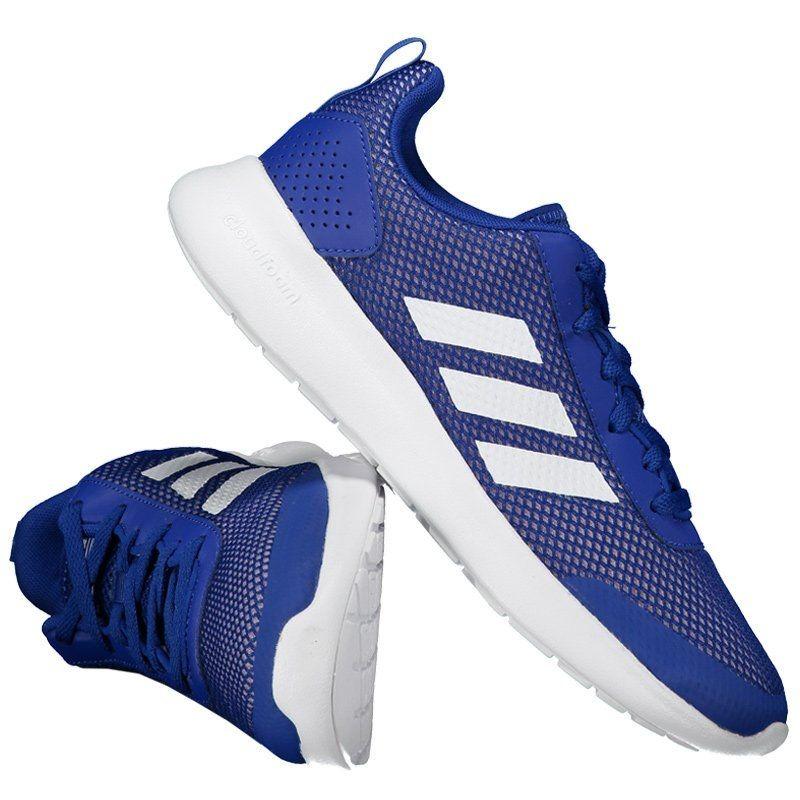 1fbdf0a9a3 tênis adidas cloudfoam element race feminino azul. Carregando zoom.