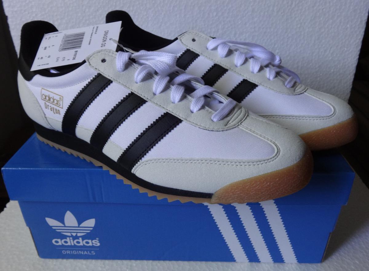 5b9785234147c tênis adidas dragon og - tam. 40 - branco e preto   novo  . Carregando zoom.