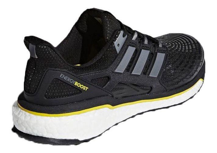 meilleures baskets fc9a0 7b34c Tênis adidas Energy Boost M -masculino - Preto/amarelo