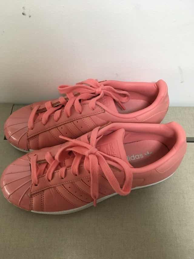 12be4a3d05 Tênis adidas Feminino Superstar Rosa 34 - R  80