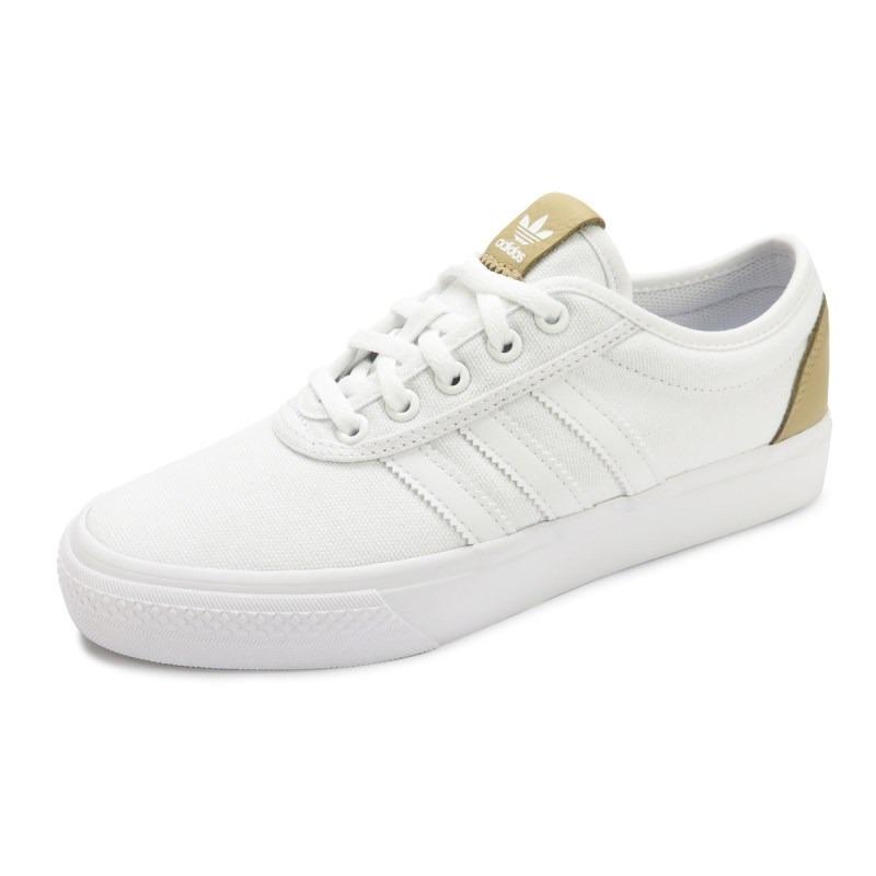 ... Tênis adidas Feminino Adiease Branco - By4068 - R 299 9dd8919215a