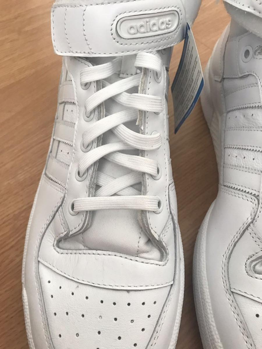 d576567fc4b tênis adidas forum mid refined branco importado - novo. Carregando zoom.
