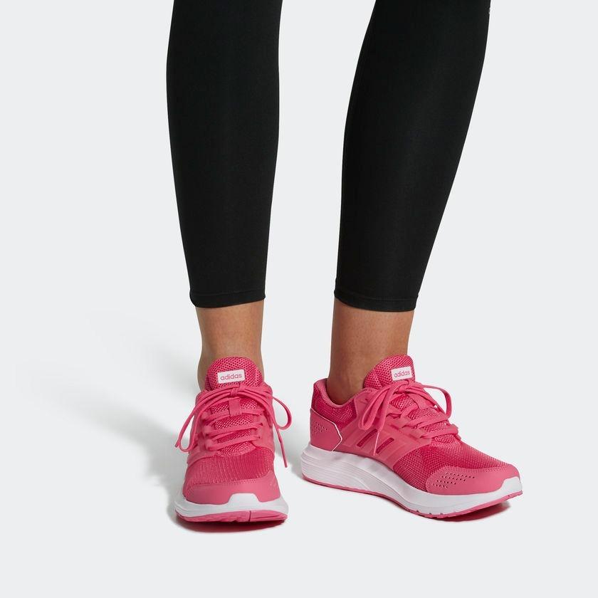 tênis adidas galaxy 4 - rosa. Carregando zoom. 591bbf35afc64