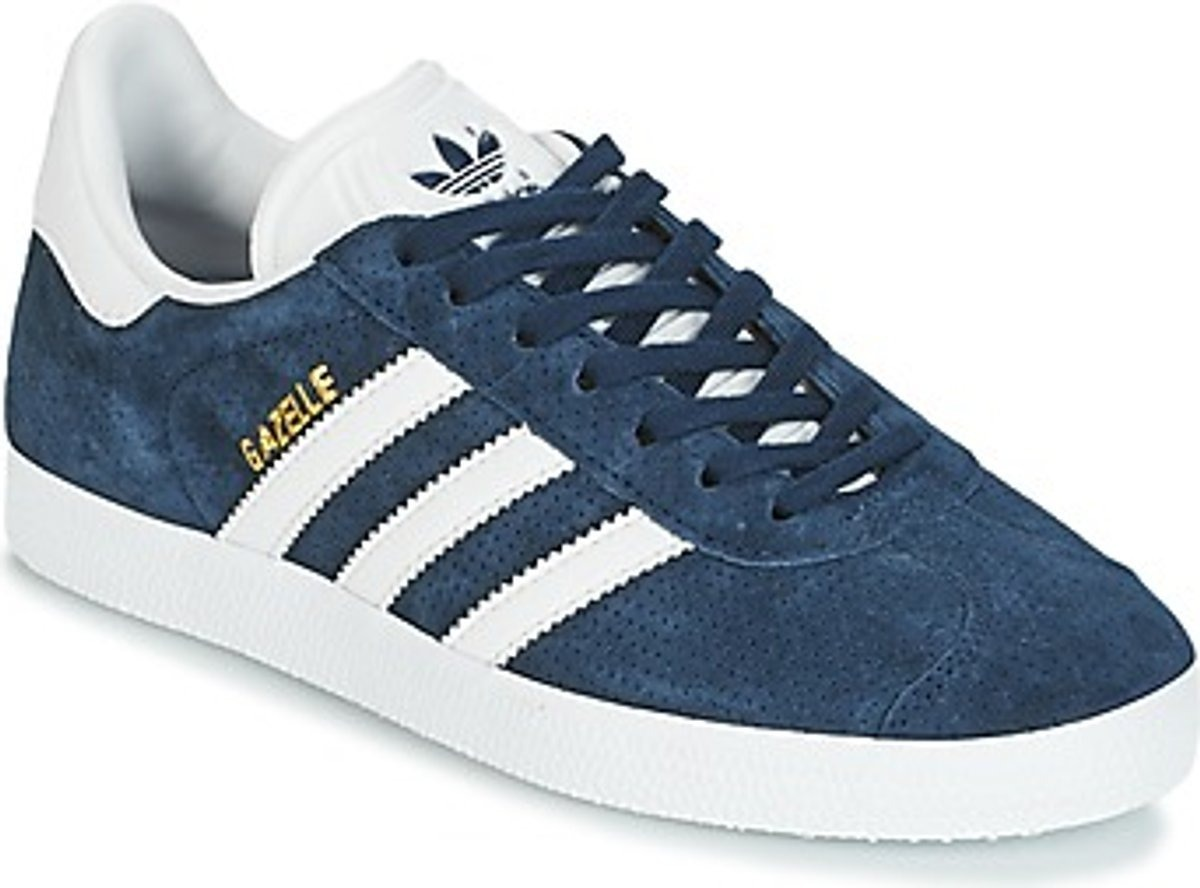 pre order on feet images of best prices Tênis adidas Gazelle W - Azul Casual / Lifestyle