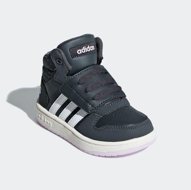 6ad22a7b704 Tênis adidas Infantil Hoops Mid 2.0 - R  219