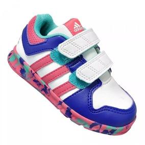 9ec2a3badbd Tênis Adidas Infantil Lk Trainer 5 Syn Cf K Branco E - Tênis no ...