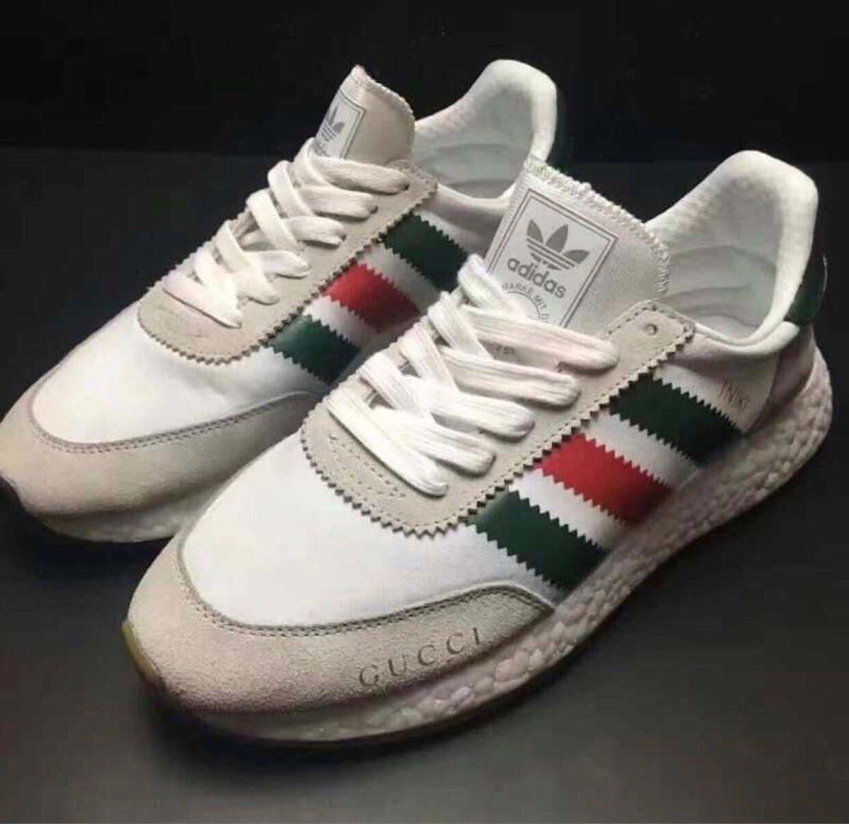 tênis adidas iniki x gucci branco original promoção. Carregando zoom. bf693d85e7b