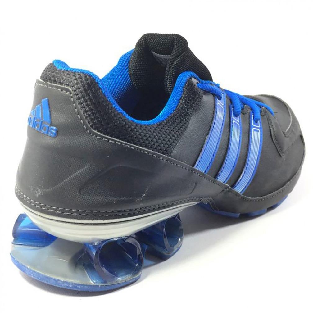 0955dcbb879 tênis adidas komet syn masculino preto e azul - original. Carregando zoom.