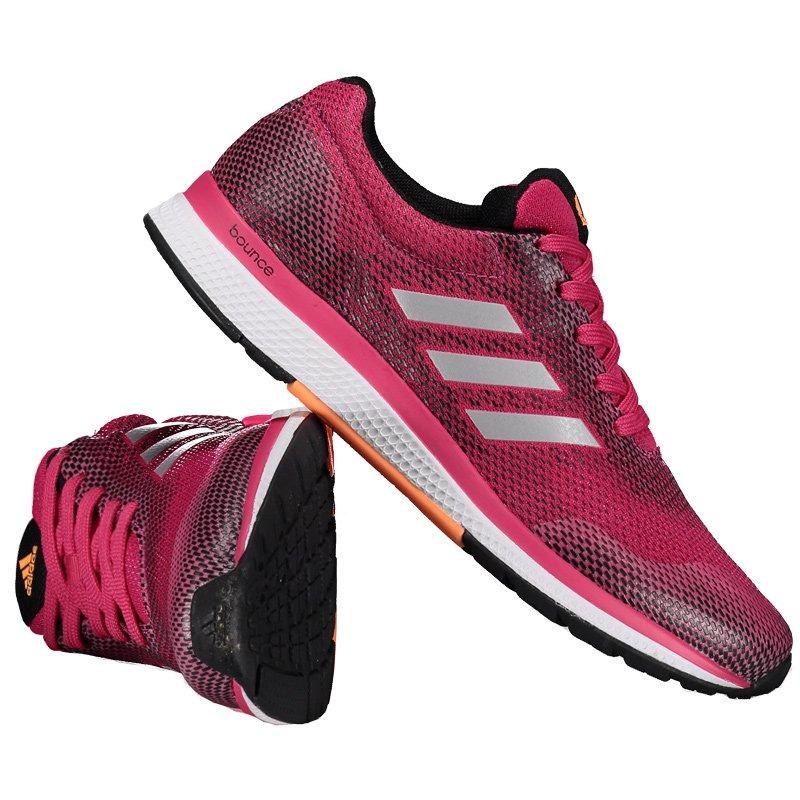 59d5bf666c4 tênis adidas mana bounce 2 feminino rosa. Carregando zoom.