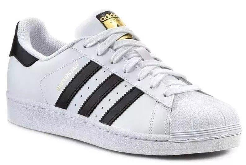Tênis adidas Masculino Feminino Superstar Branco Promoção - R  200 ... 0d2481cc3dfd6