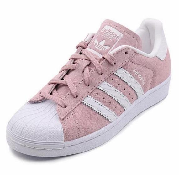 43e9a144659 Tênis adidas Superstar Original Shoe Meninas Importado Lindo - R ...