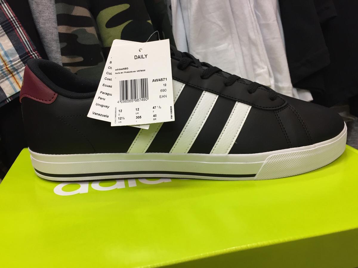 tênis adidas neo daily preto número 45 original. Carregando zoom. b58abc1eeab9f