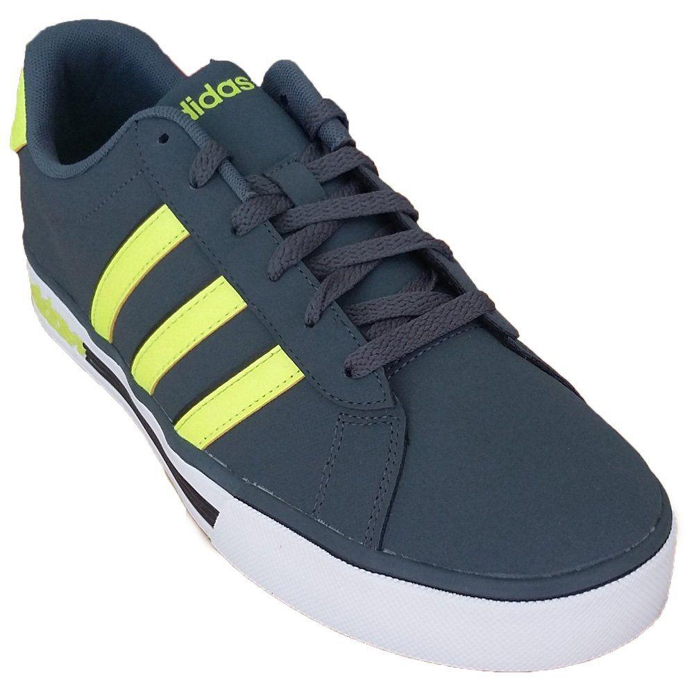 tênis adidas neo daily team - masculino - chumbo verde. Carregando zoom. 9078d2807d19f