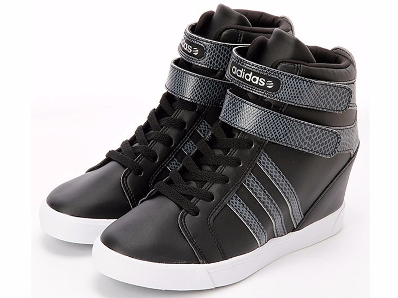 81a8d2f3f48 Tênis adidas Neo Daily Wedge Sneaker High