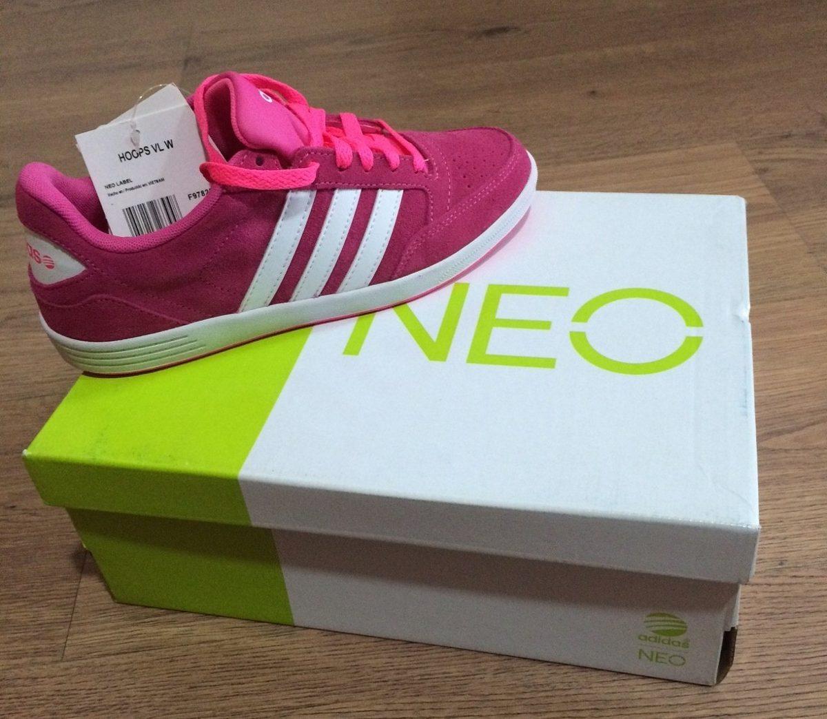 8bd87d9b348 tênis adidas neo stripes rosa. Carregando zoom.