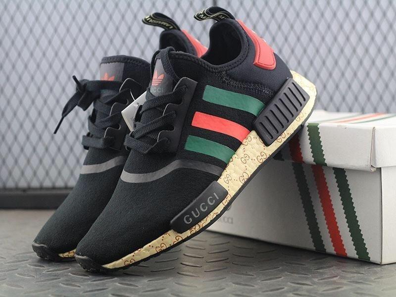 tênis adidas nmd boost gucci preto - frete gratis. Carregando zoom. b6e0797e5c9