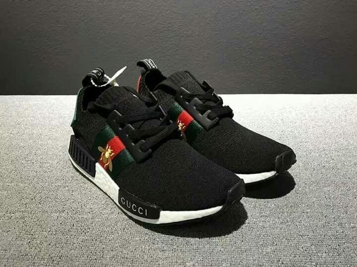 Tênis adidas Nmd By Gucci Abelha Preto Ou Branco - Confira! - R  599 ... 436840eae6