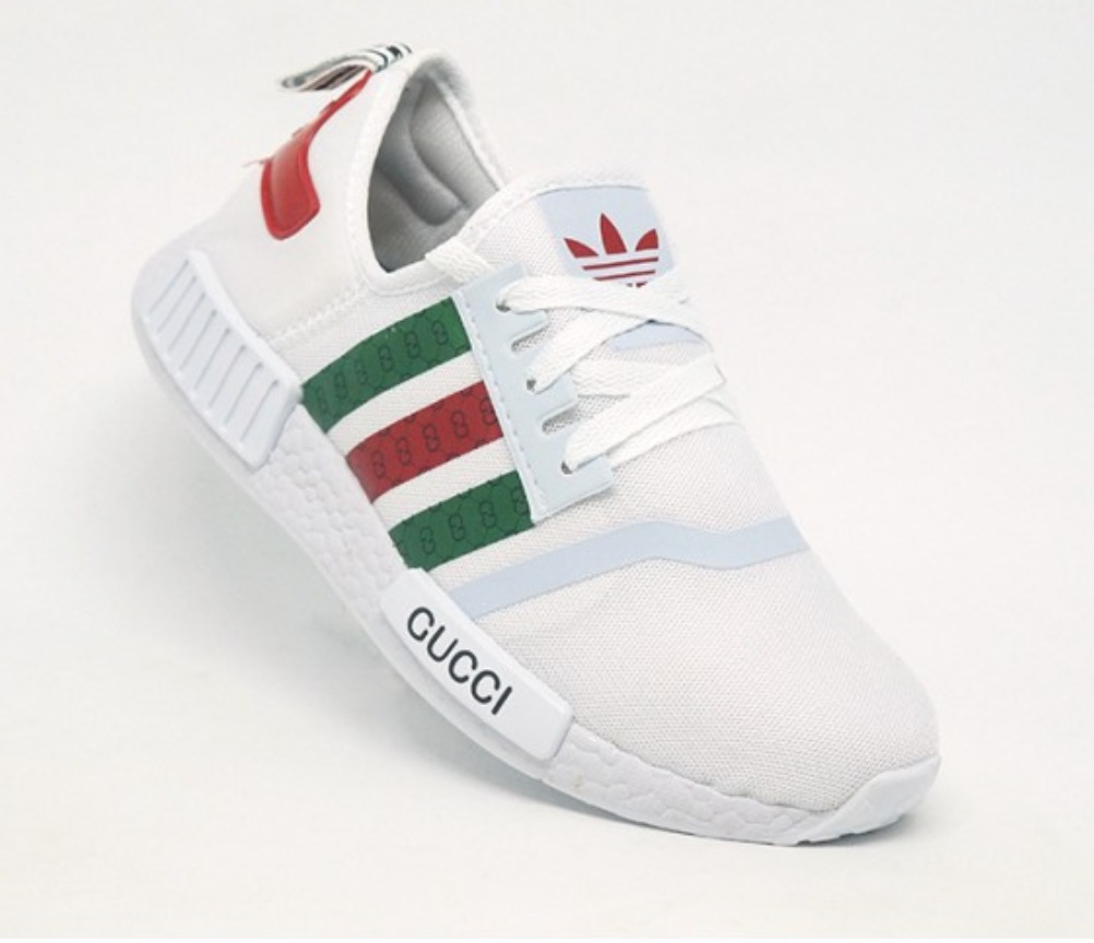 fd0cdb735 tênis adidas nmd by gucci branco. Carregando zoom.