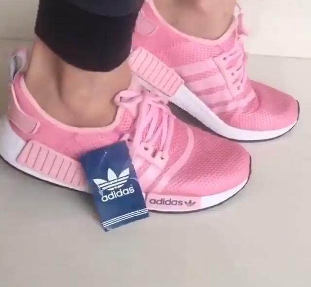 tenis adidas nmd rose feminino